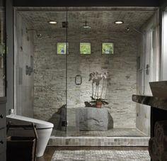 rivestimento pietra doccia - Cerca con Google