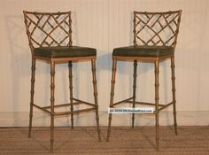 Bamboo Dining Chair Pair Hollywood Regency Faux Bamboo Chippendale Metal Bar Stools Dining Chairs 1 Lgw Inspiration and Design Ideas for Dream House Alta Bamboo Dining Chair Chippendale Bamboo Dining Chairs For Sale Bamboo Dining Arm Chairs Bamboo Dining Chairs, Dining Room Chairs, Table And Chairs, Hollywood Regency, Regency Furniture, Metal Bar Stools, New Kitchen, Kitchen Products, Bungalow