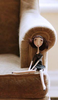 maidi chair by Black-eyed Suzie, via Flickr