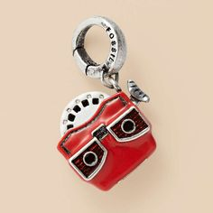 I love Fossil charms for a little pop of color and originality