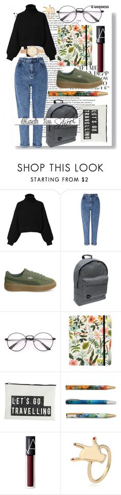 """""""Back to school"""" by ilsaledelmare on Polyvore featuring Diesel, Miss Selfridge, Puma, MiPac, Berylune, House Doctor, Improvements, NARS Cosmetics, H&M and White Label"""