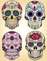 """Résultat de recherche d'images pour """"candy skull tattoo"""""""
