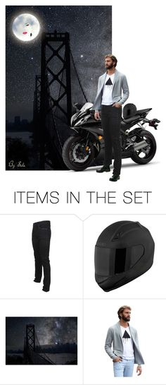 """""""Men Doll Sets - Amused by the Moon"""" by selene-cinzia ❤ liked on Polyvore featuring art"""