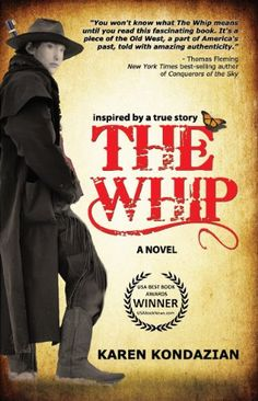 The Whip : Inspired by the story of Charley Parkhurst by Karen Kondazian http://www.amazon.com/dp/B0064599HK/ref=cm_sw_r_pi_dp_wHH6vb02R2EQE