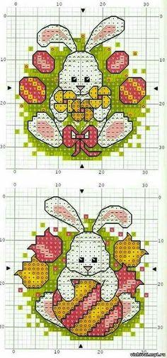 Mini Cross Stitch, Cross Stitch Cards, Beaded Cross Stitch, Cross Stitch Animals, Counted Cross Stitch Patterns, Cross Stitch Designs, Cross Stitching, Cross Stitch Embroidery, Hama Mini