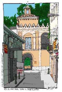 Mercat municipal i Palau Falguera