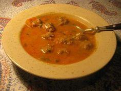 Polévka s masovými knedlíčky image 1