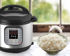 A guide to how to cook the perfect rice in your Instant Pot multi-use programmable pressure cooker and tips to avoid to ensure you prepare amazing rice.