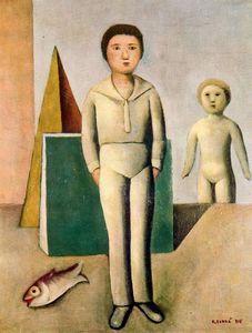 Carlo Carrà - Mio figlio