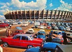 Inaguração do estádio Mineirão (BH, Brasil) em 1965