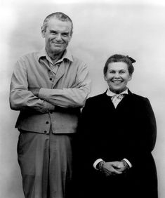 Charles and Ray Eames - love them!