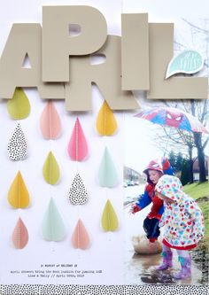 April Showers by Pam