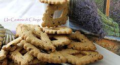 Un cestino di ciliege: Biscotti con Farina D'Avena Arancia e Cioccolato
