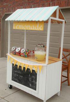 Créer un petit stand boissons pour le jardin! 20 idées DIY inspirantes...