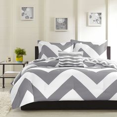 Mi Zone Gemini Reversible 4-piece Comforter Set - Overstock Shopping - Great Deals on Mi-Zone Comforter Sets