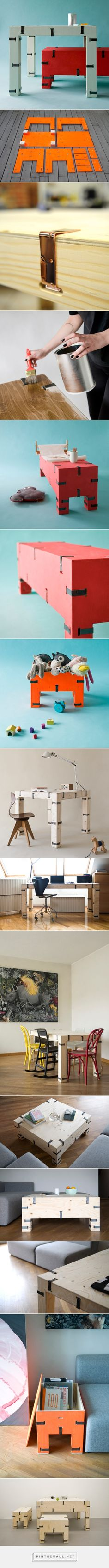 Pakiet: A Collection of Simple, Easy to Assemble Furniture - Design Milk - created via http://pinthemall.net