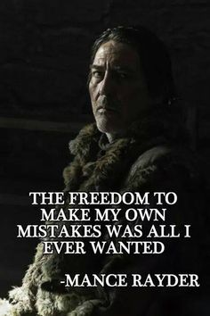 The King Beyond The Wall [RIP, Mance Rayder]