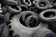Tires - Old and used tires can actually be repurposed for many different things, such as making new roads and any sort of pavement. It is very common to see parts of tires or old tires on the sides of roads, but those should not be put into dumpsters.