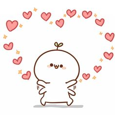 Chibi Kawaii, Kawaii Doodles, Cute Chibi, Kawaii Art, Anime Chibi, Cute Love Gif, Cute Love Memes, Kawaii Stickers, Cute Stickers