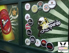 Vinilos decorativos fotomurales para decorar tu empresa negocio bar restaurante