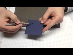 Paper-piercing Video Tutorial, www.stampwithbrian.com,Stampin' Up!