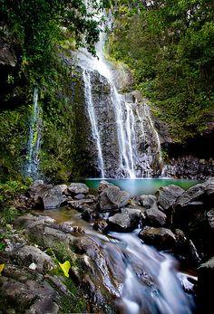 Wailua Falls, Hana, Maui byJessica Veltri