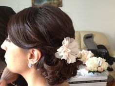 Bridesmaid Hairstyle by Rose Mossman - contact me at www.facebook.com/0myaddictionmakeup