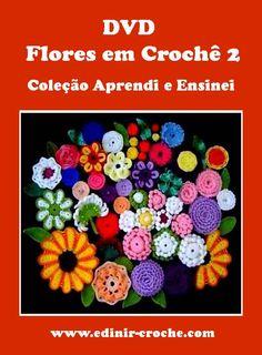 vídeo-aula flores em croche passo-a-passo