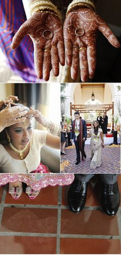 Indian wedding celebrations are stunning. the Jewelry, colours, details, gowns and culture are all inspiring