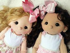 Muñeca de fieltro Esperanza con moldes
