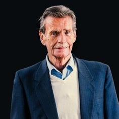 "Portraits | William McIlvanney, ""The Godfather"" of Scottish crime fiction…"