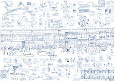 佐藤 晋平 新井 直人(芝浦工業大学大学院) まちのふるさと商店街 Kindergarten Design, How To Draw Hands, Presentation, Competition, Arch, Architecture, Bow, Hand Reference