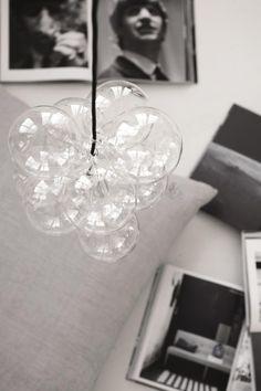 Hanglamp DIY Glasballen - Transparant Zilver Zwart - E27 - House Doctor
