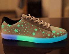 MINMAI Night Light Up Sneakers Hip-Hop Dancer Couple Shoes