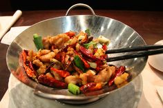 WOK THIS WAY! In the wok, you can cook everything from classic Asian-inspired dishes to Carribean-inspired dishes, noodle or rice options, and more. LINK http://goo.gl/LAZcT8