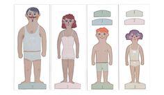 Paper Family, muñecas de papel de londji