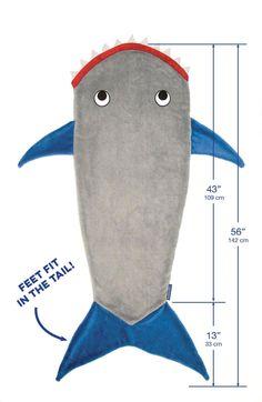 Hot infant kids fleece sharks/mermaid blanket sleeping bags Thick envelope for kids diy shark sharp tail sleepsack baby blanket
