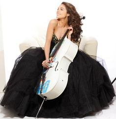 Olivia Culpo. Cellist and now Miss USA 2012.