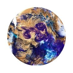 • P U R P L E  S T O R M • Resin and acrylic pour porthole. Dioxadine Purple blended with rich pale gold and hints of deep blue and turquoise. She's random but beautiful, email for sales enquiries #lwrenart #abstractart #resinart #elichemresins #interiorstyling #kreoloveslocal #originalart #perthart #art #supportlocal #artforsale #flaming_abstracts