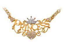Gold Princess Necklaces for Women //Price: $18.99 & FREE Shipping //     #fashion #urbanpinup #picoftheday