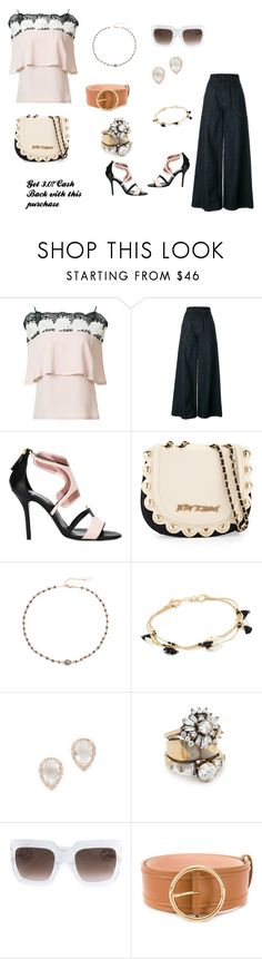 """Show your style..."" by jamuna-kaalla ❤ liked on Polyvore featuring Yigal AzrouÃ«l, Marni, Pierre Hardy, Betsey Johnson, Ela Rae, Shashi, EF Collection, Iosselliani, Gucci and Agnona"