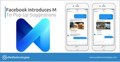Facebook launched M which is described as a helpful assistant in Messenger, powered by artificial intelligence.     VISIT:- http://www.oodlestechnologies.com/blogs/Facebook-Introduces-M-To-Pop-Up-Suggestions  #ai, #artificialintelligence, #facebookfeatures, #facebookmarketing, #facebookmobileapp, #facebookupdates, #mobileapp, #mobileapplications