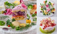 Introducing salad cakes, also known as 'cakes' made entirely from vegetables, whether root, peel or actual veg. Containing little sugar, they are the brainchild of a Japanese food stylist.