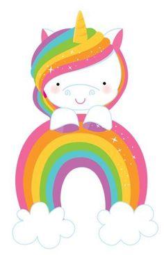 Unicorn Crafts, Unicorn Art, Cute Unicorn, Rainbow Unicorn, Little Pony Party, My Little Pony, Unicornios Wallpaper, Unicorn Pictures, Unicorns And Mermaids