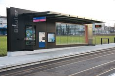 Bus stop shelters | Tram Stop Infrastructure | BURRI. Check it out on Architonic