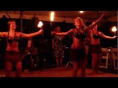 The Aloha Hula Show NJ   Fire Tahitian Dance   2012    #Aloha #Hula #Tahiti #Tahitian #Dance #Dancing #Coconut #Shell #Bra #Pareo #Women #Vahine #Torch #Fire #2012