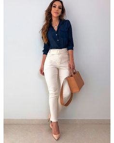 99 Fashionable Office Outfits and Work Attire for Women to Look Chic and Stylish – Lifestyle Scoops Outfits Nachstylen, Classy Outfits, Stylish Outfits, Cool Outfits, Fashion Outfits, Formal Casual Outfits, Office Outfits Women Casual, Polyvore Outfits, Work Attire For Women