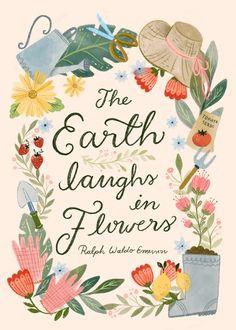 Seville, Good Books, Birthday Cards, Whimsical, New York, London, Lettering, Illustration, Floral
