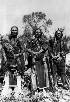 The Comanche were a branch of the Shoshoni. They left the Rocky Mountains early in the 18th century, migrating to the Plains to become the most famous of the Texas Plains tribes. They made life extremely hazardous for the caravans attempting to cross the Santa Fe Trail. Their warlike culture was feared throughout the Southwest