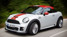 The first Mini I would actually drive.  Very cool.  2012 Mini Cooper Coupe